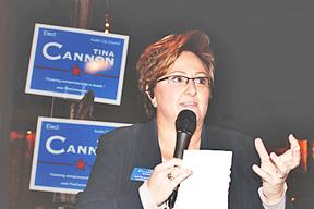 Tina Cannon kicks off her city council campaign