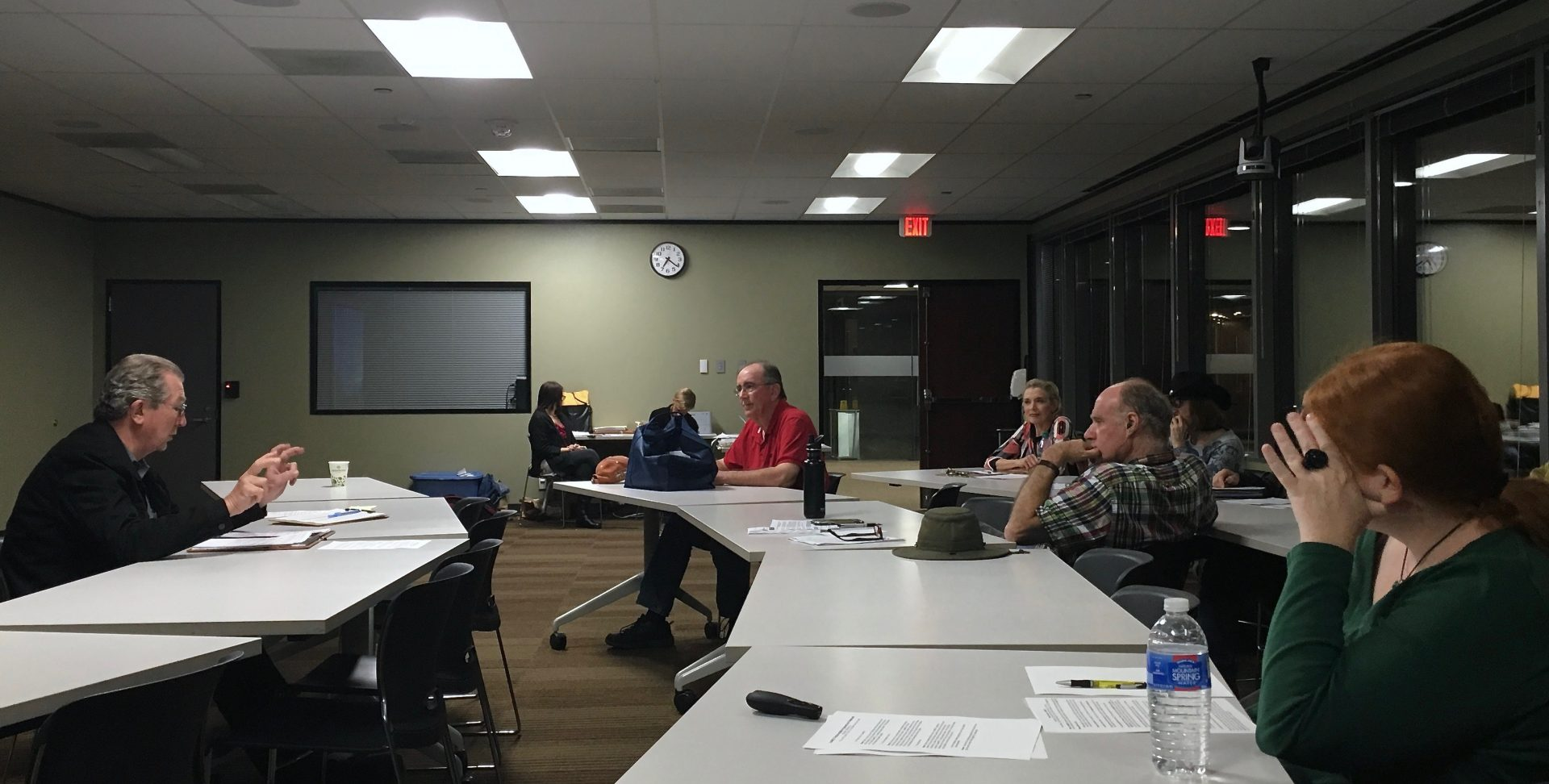 Bill Aleshire provides guidance to IndyAustin members