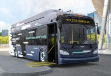 New CapMetro electric bus